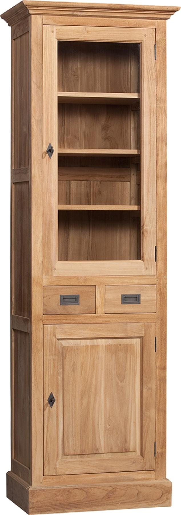 Bücherschrank Naturholz