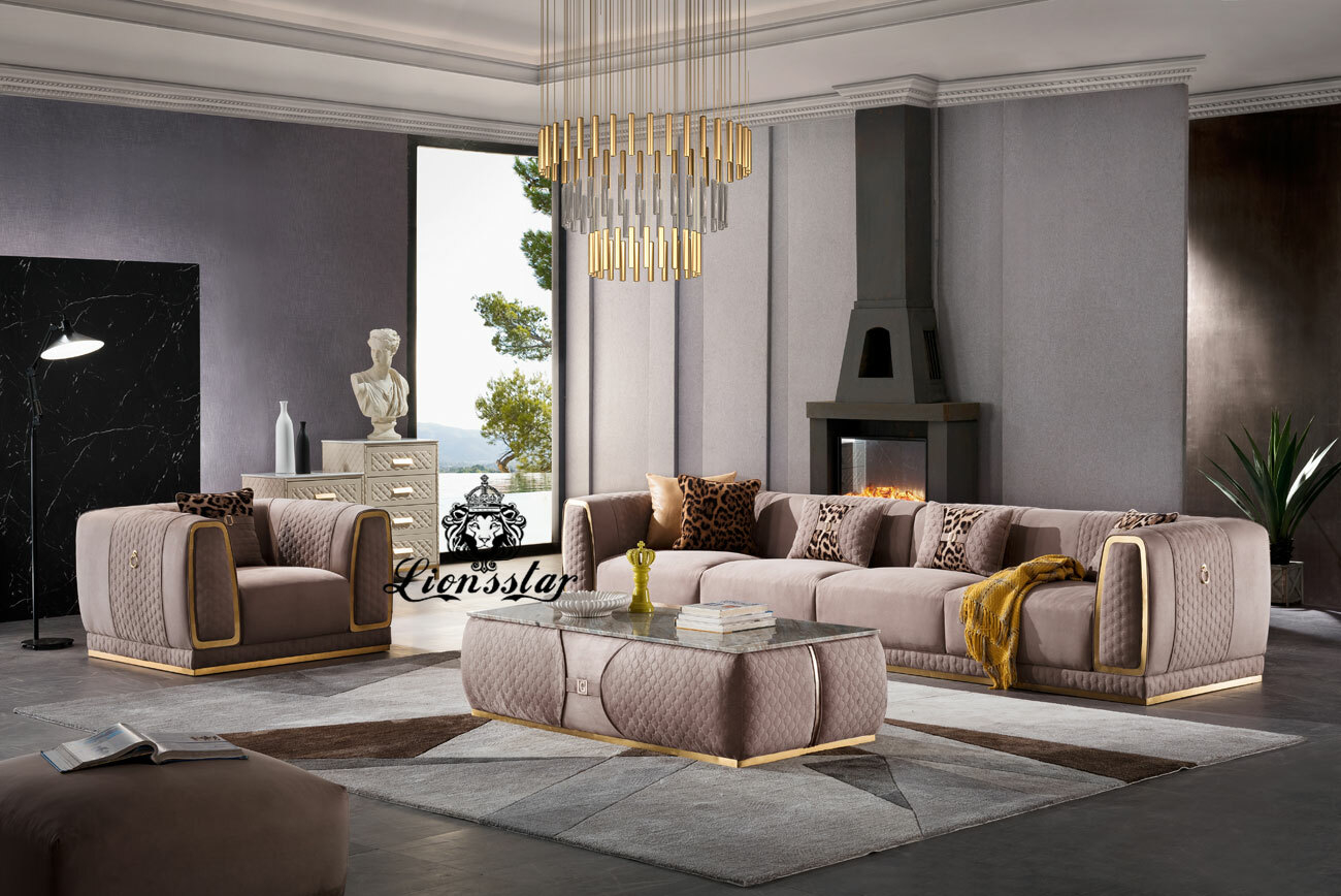 Modernes Design Sofa Set Rings