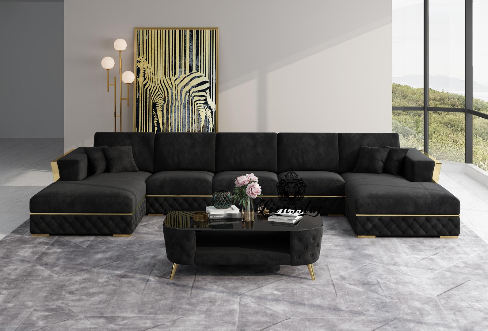 Designer Sofa Loft Style U Form