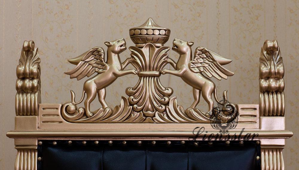 Barockstil Bürostuhl King