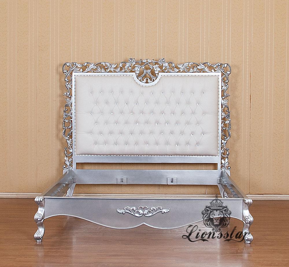 Louis Bett Luxus Rose