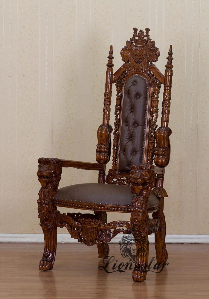 thronstuhl l we braun lionsstar gmbh. Black Bedroom Furniture Sets. Home Design Ideas