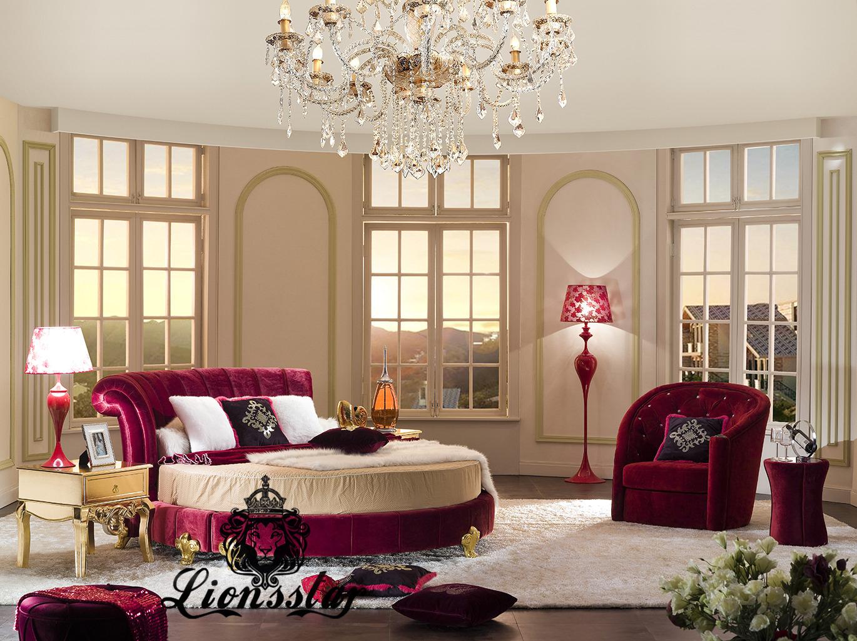 Rundes Luxusbett