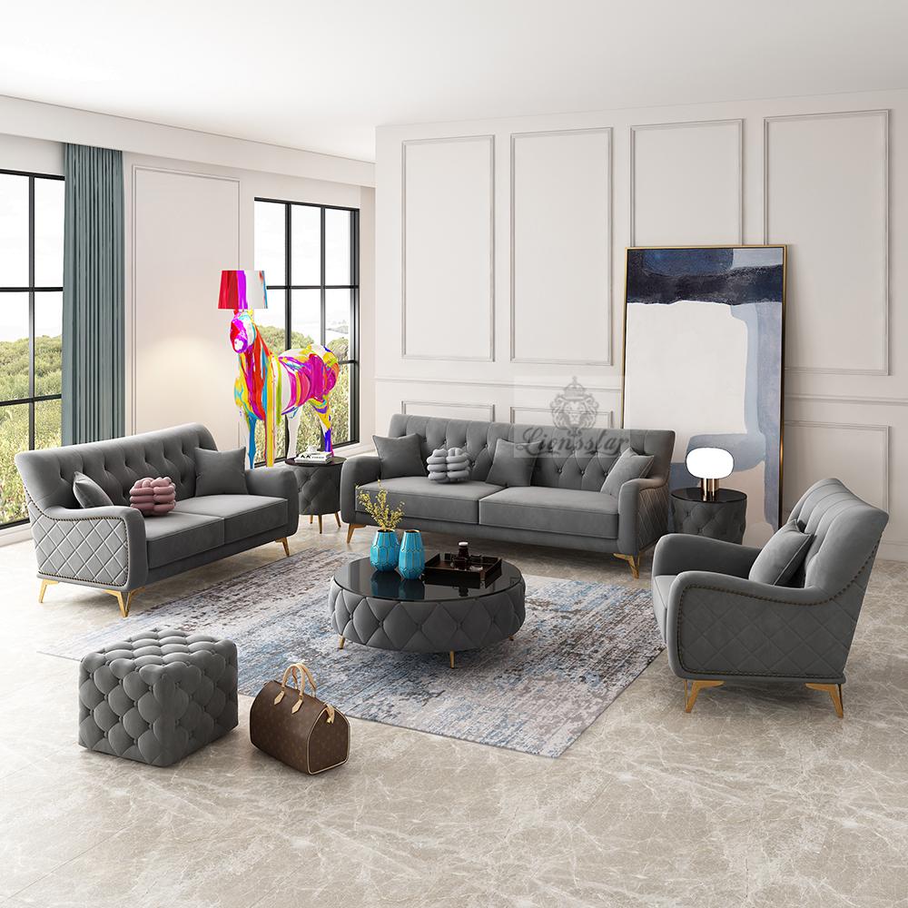 Luxus Couchgarnitur Philadelphia Straight
