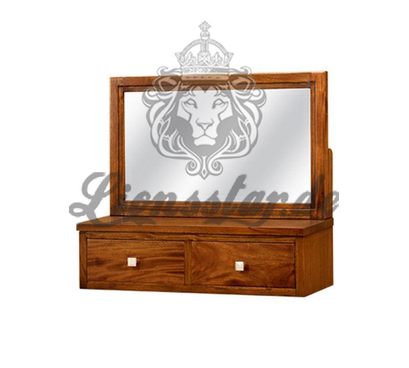 Spiegelkommode Barock Mahagoni Holz Sk.214