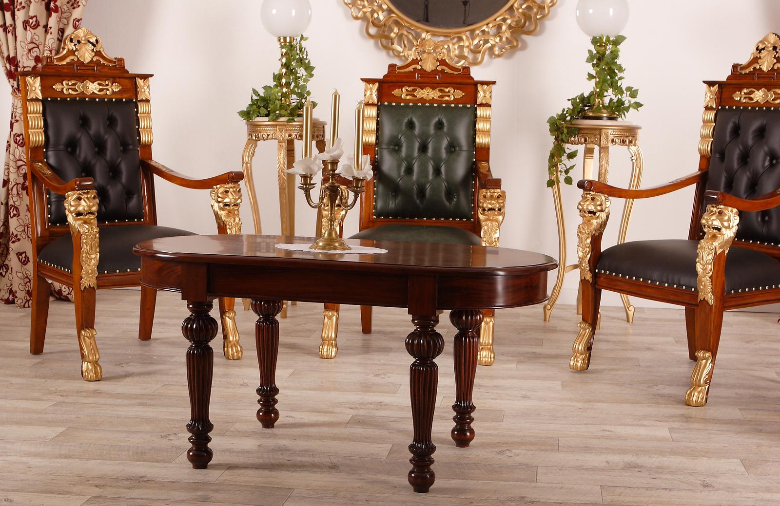 Schreibtischstuhl im Barockstil