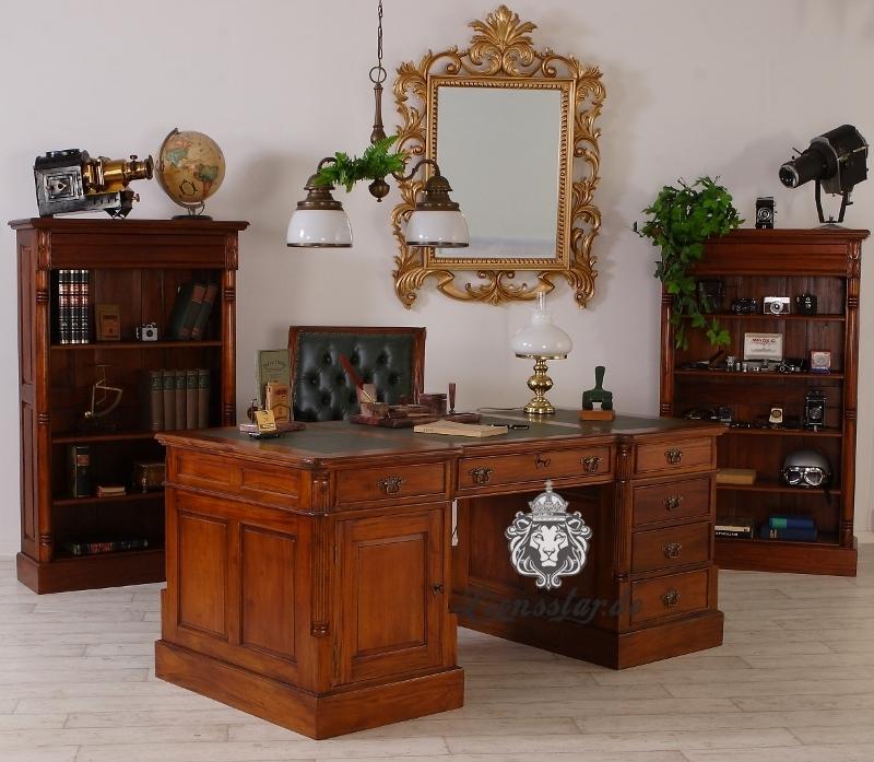 Bücherregal Neu Barockstil Mahagoni