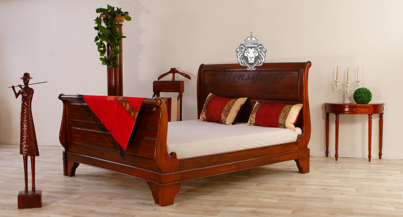 empire bett mahagoni lionsstar gmbh. Black Bedroom Furniture Sets. Home Design Ideas