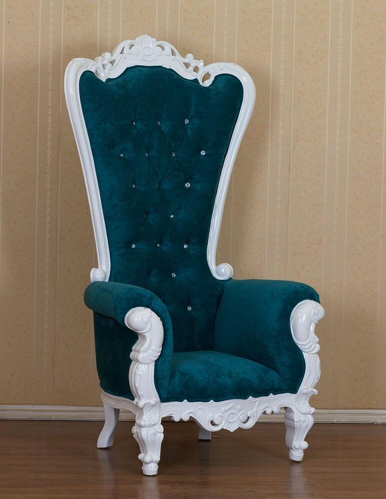 King Chair Aquamarin