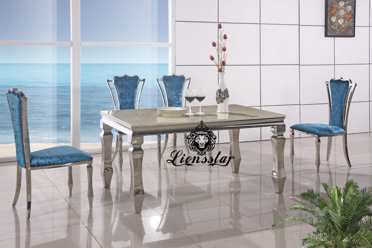 Designertischset Blau