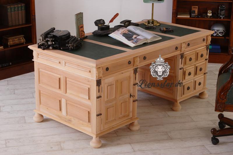 Schreibtisch Naturholz