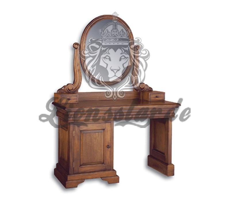 Spiegelkommode Barock Mahagoni Holz Sk.193