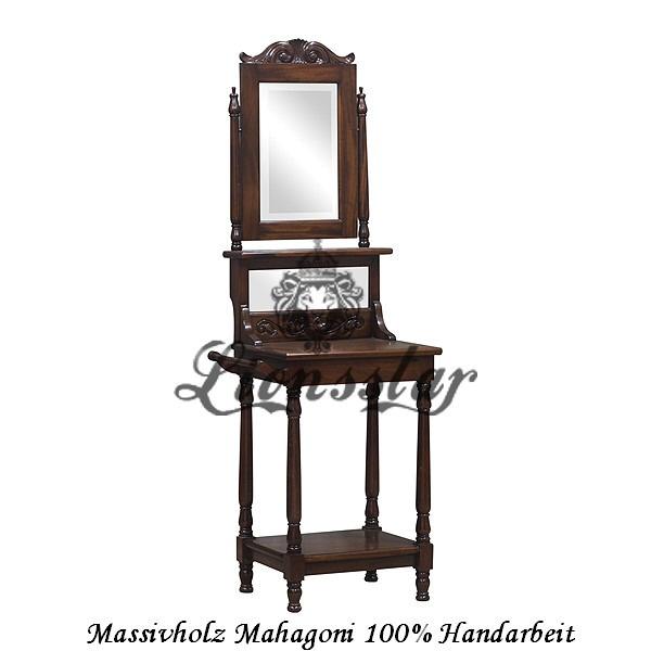 Spiegelkommode Barock Mahagoni Holz Sk.130