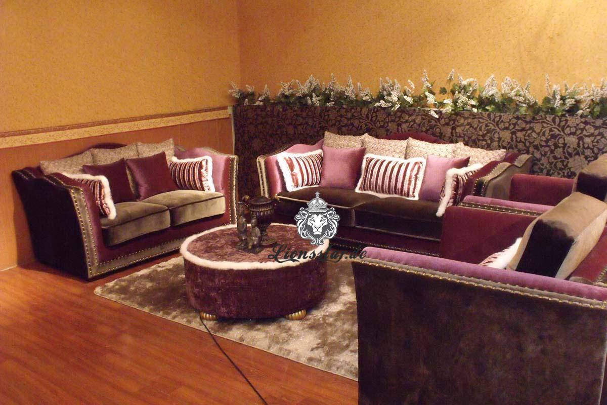 Wohnzimmer Couch Set Klassik Lionsstar Gmbh