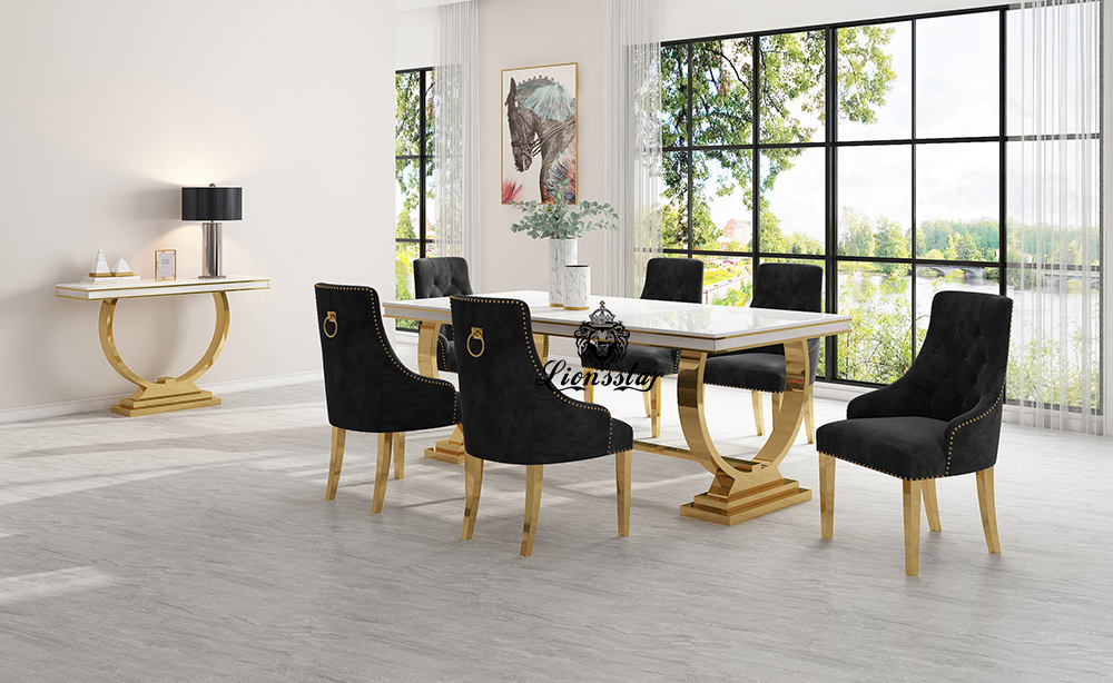 Luxus Stuhl Loft Design Golden
