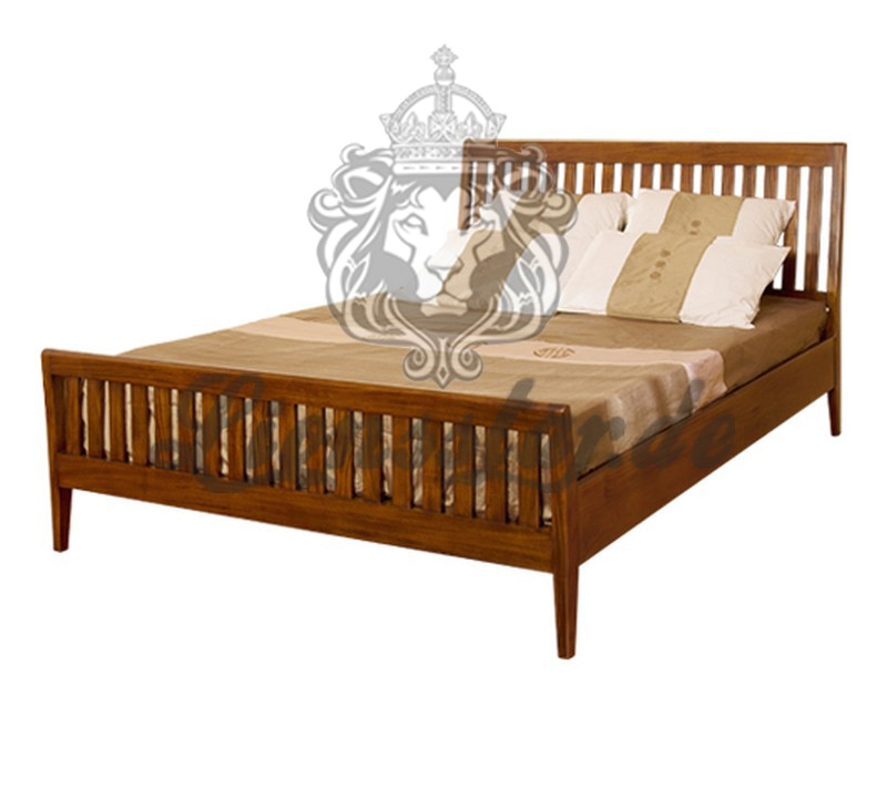 Teak Empire Bett Massivholz