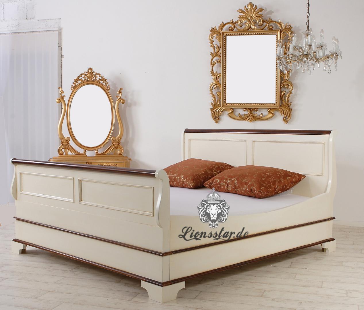 Empire Bett Weiß