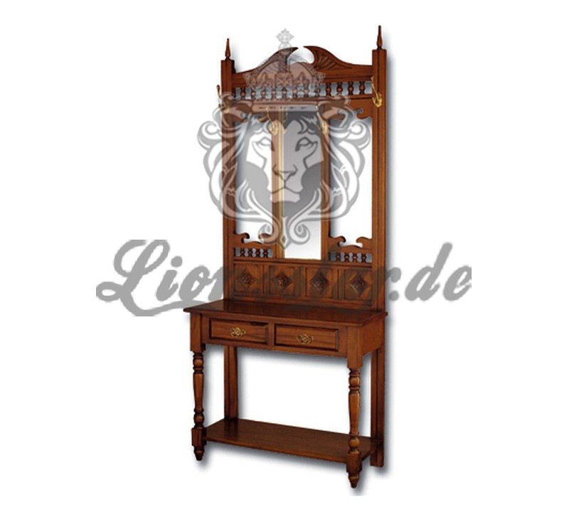 Spiegelkommode Barock Mahagoni Holz Sk.178