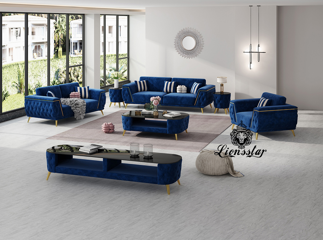 Luxus Designer Sofa Set Brighton