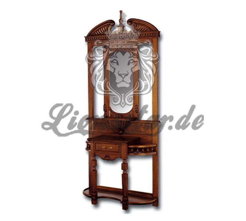 Spiegelkommode Barock Mahagoni Holz Sk.182