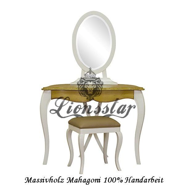 Spiegelkommode Barock Mahagoni Holz Sk.145