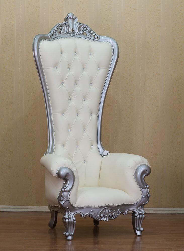 King Chair White Edition