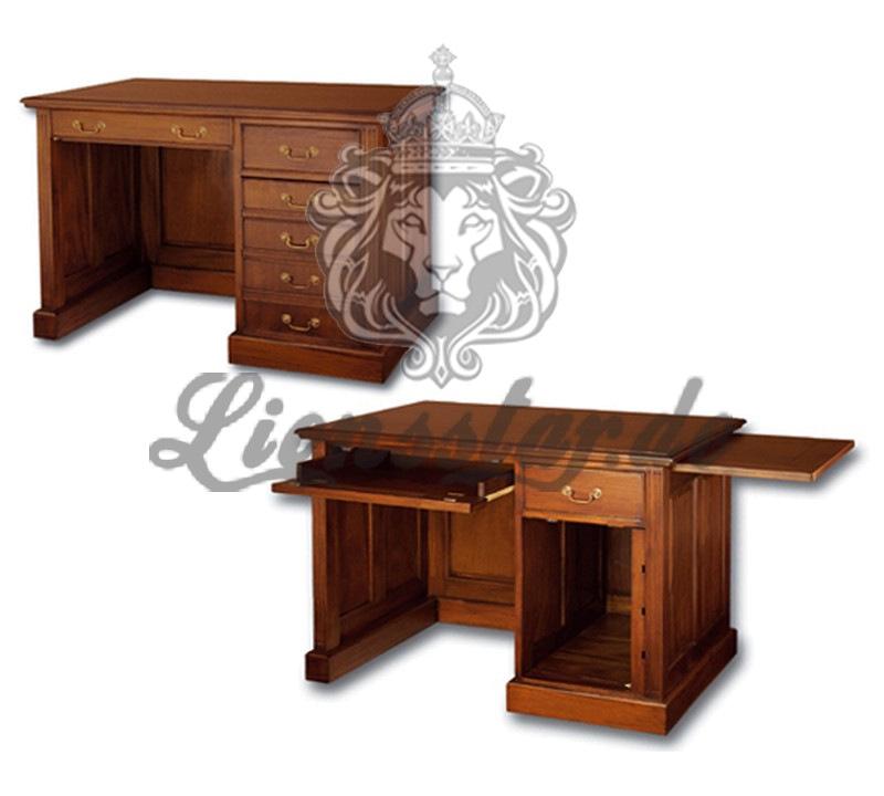 Mahagoni Schreibtisch Aspen