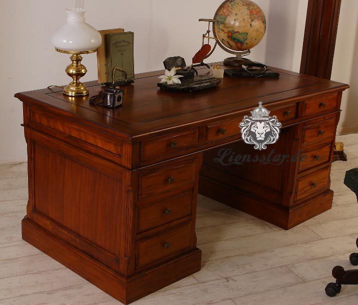 Schreibtisch Mahagoni