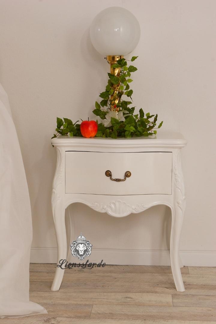 Nachttisch Weiß