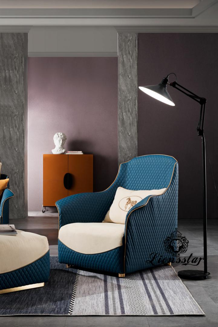 Exklusives Luxus Sofa Set Horses