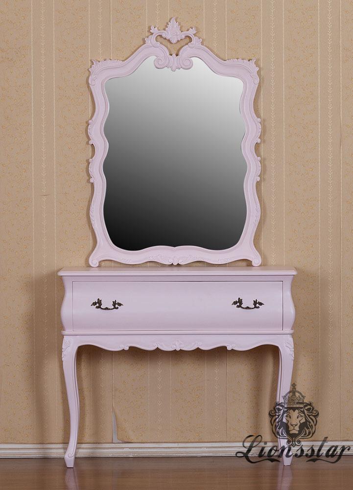 Spiegelkommode Barock Mahagoni Holz Sk.259