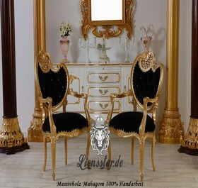 Stuhl Mahagoniholz