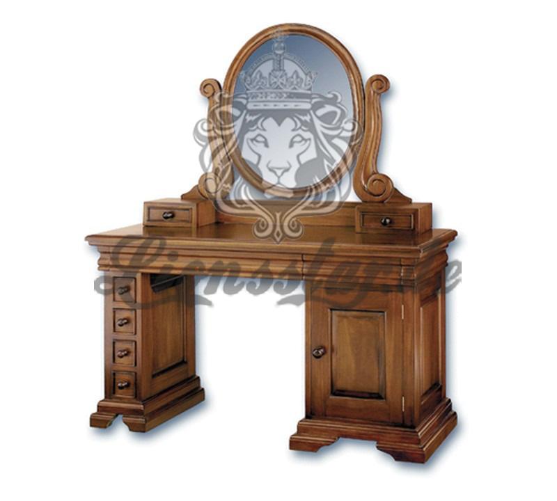 Spiegelkommode Barock Mahagoni Holz Sk.195