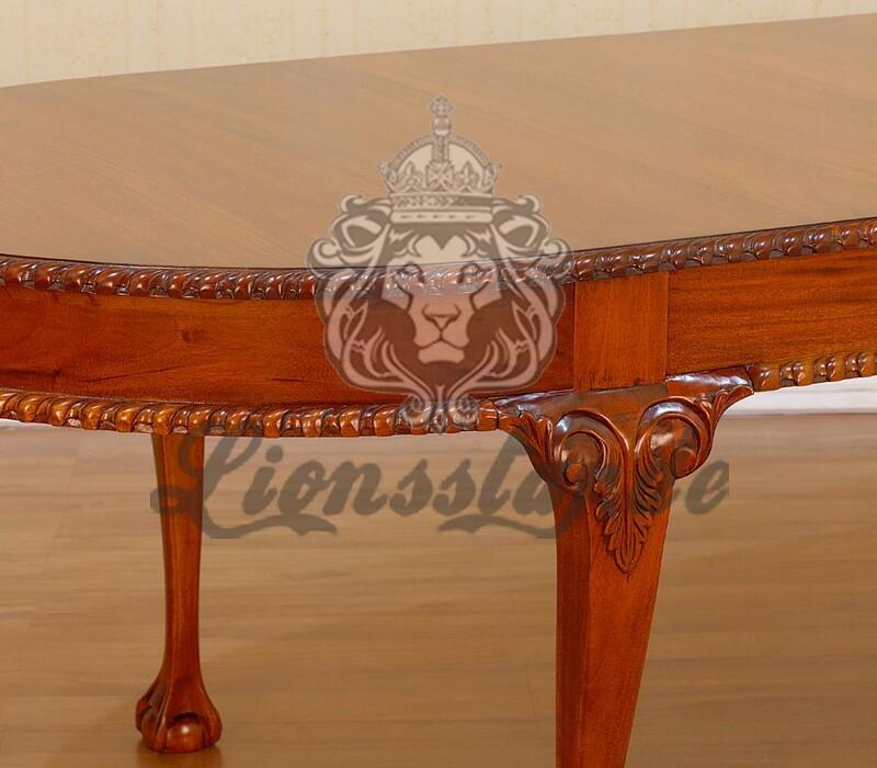 Designer Esstisch Ornament