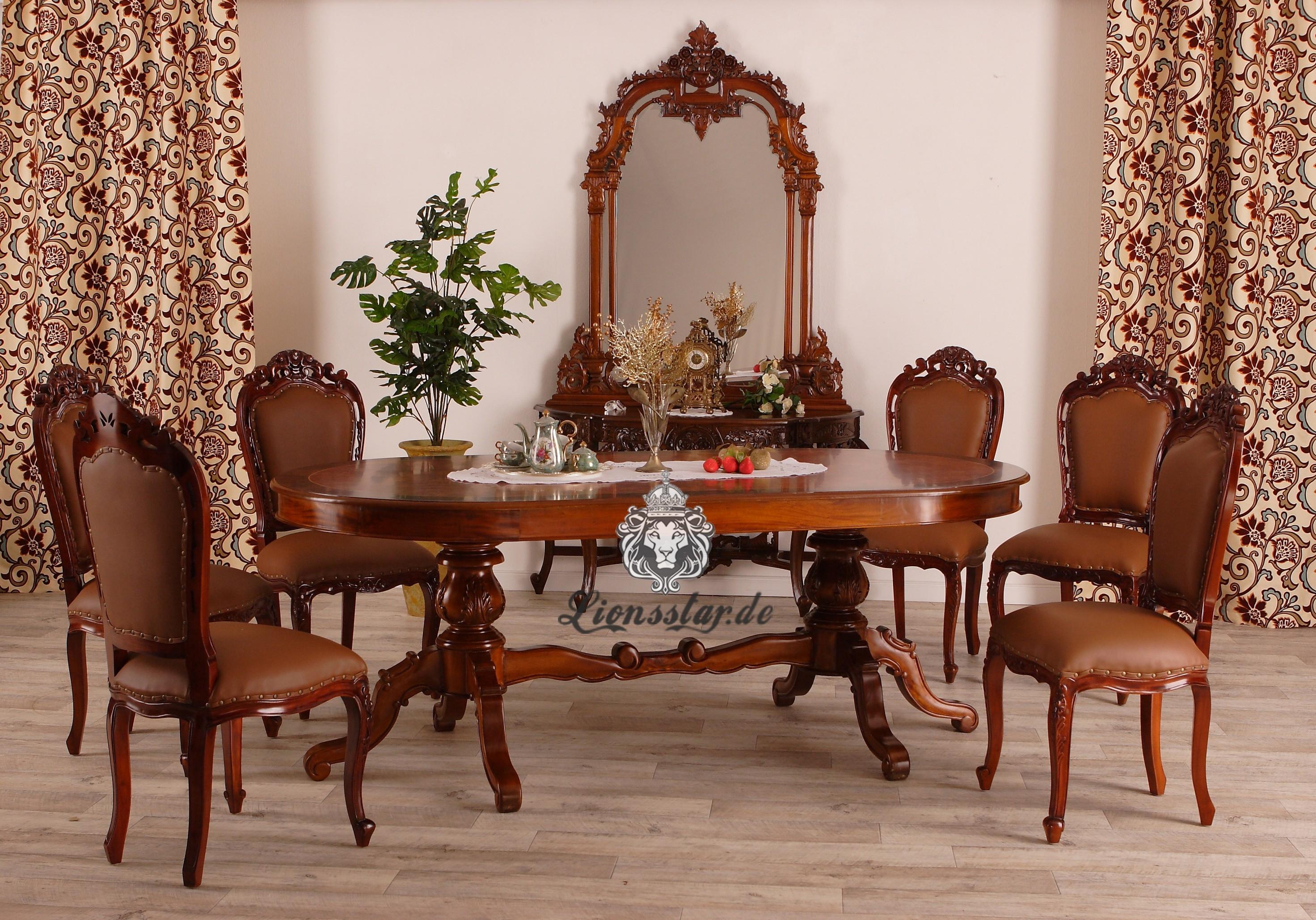 teakholz esstisch set lionsstar gmbh. Black Bedroom Furniture Sets. Home Design Ideas