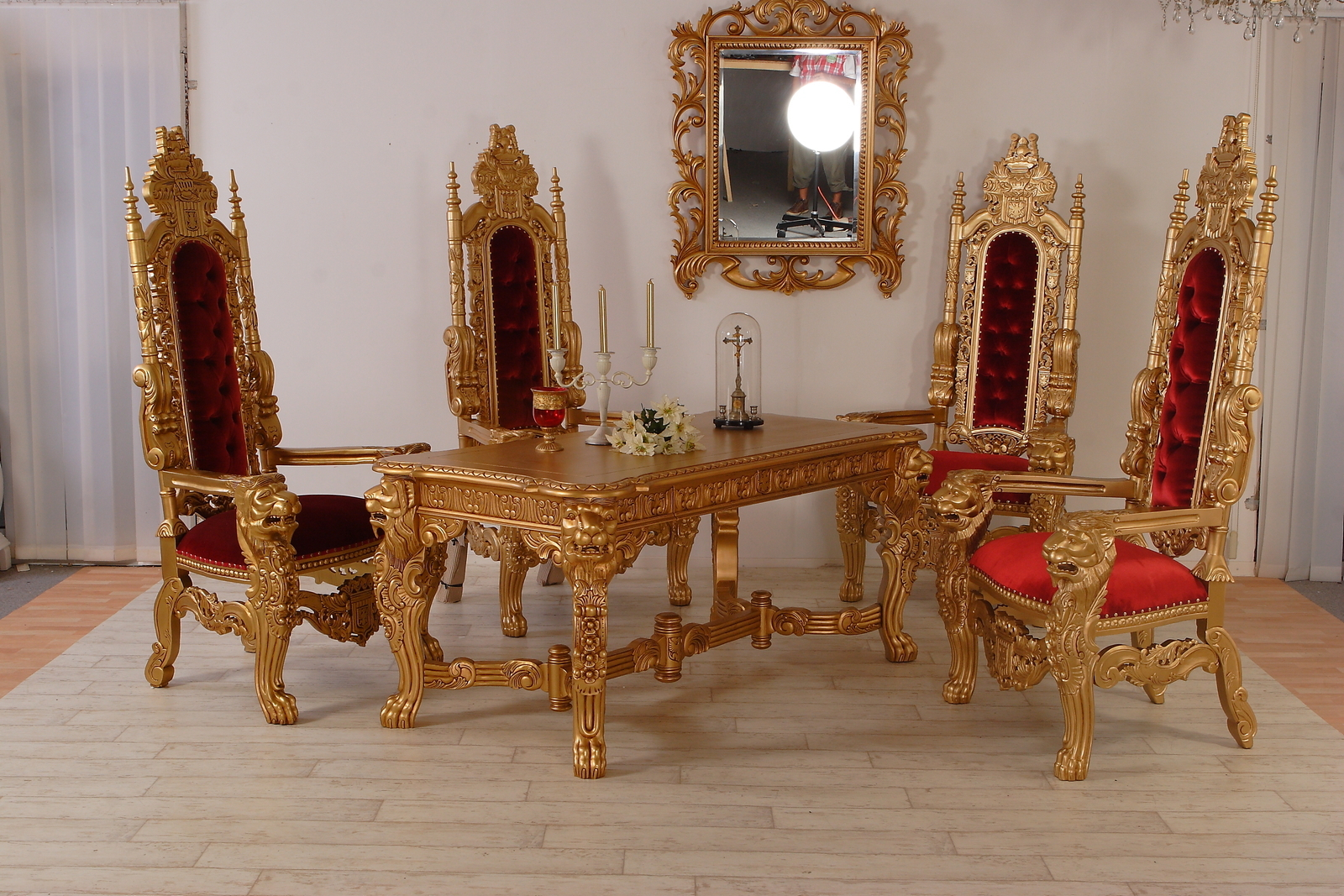 Luxus Esstisch Set