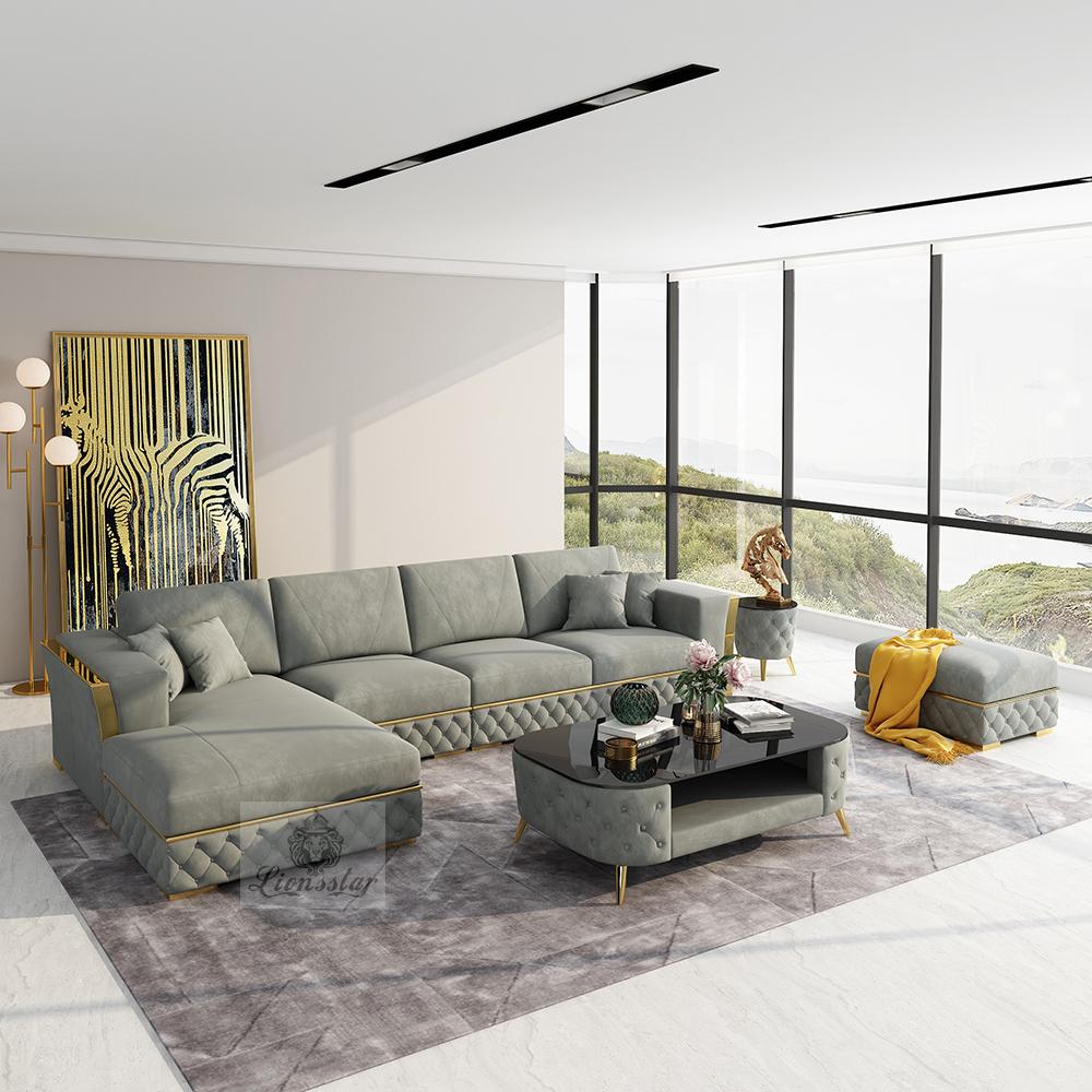 Designer Sofa Loft Style L Form