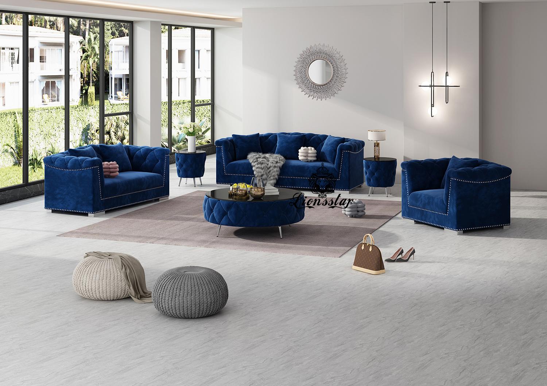Luxus Design Couchgarnitur Rivoli