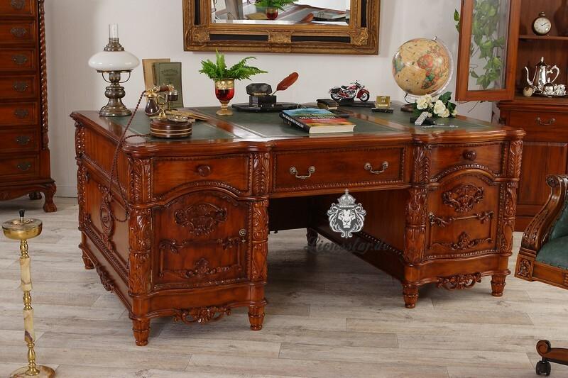 Schreibtisch Barockstil Präsident