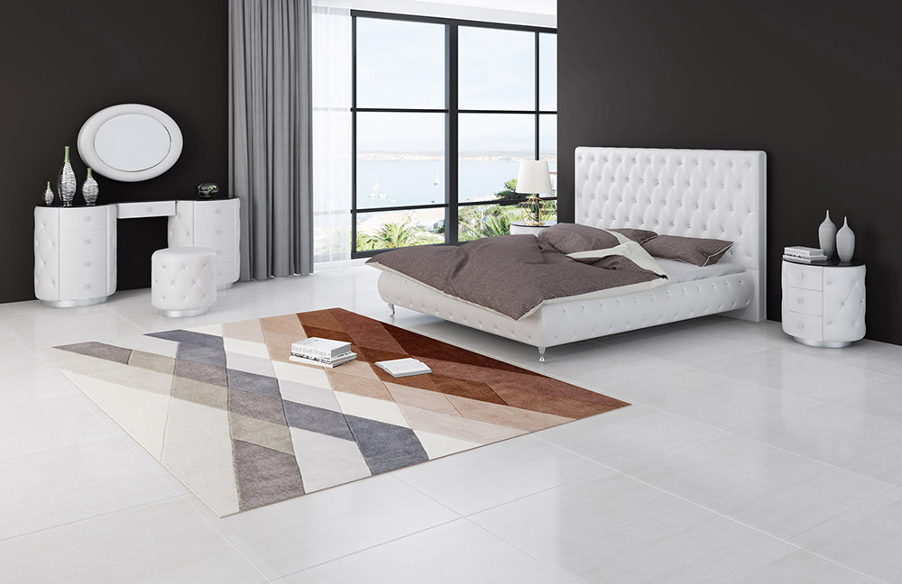 Luxus Design Bett Chesterfield Loft Style
