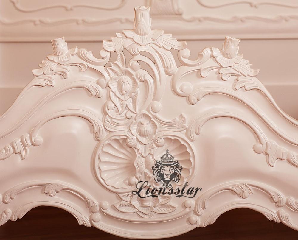 Luxus Louis Bett Snow