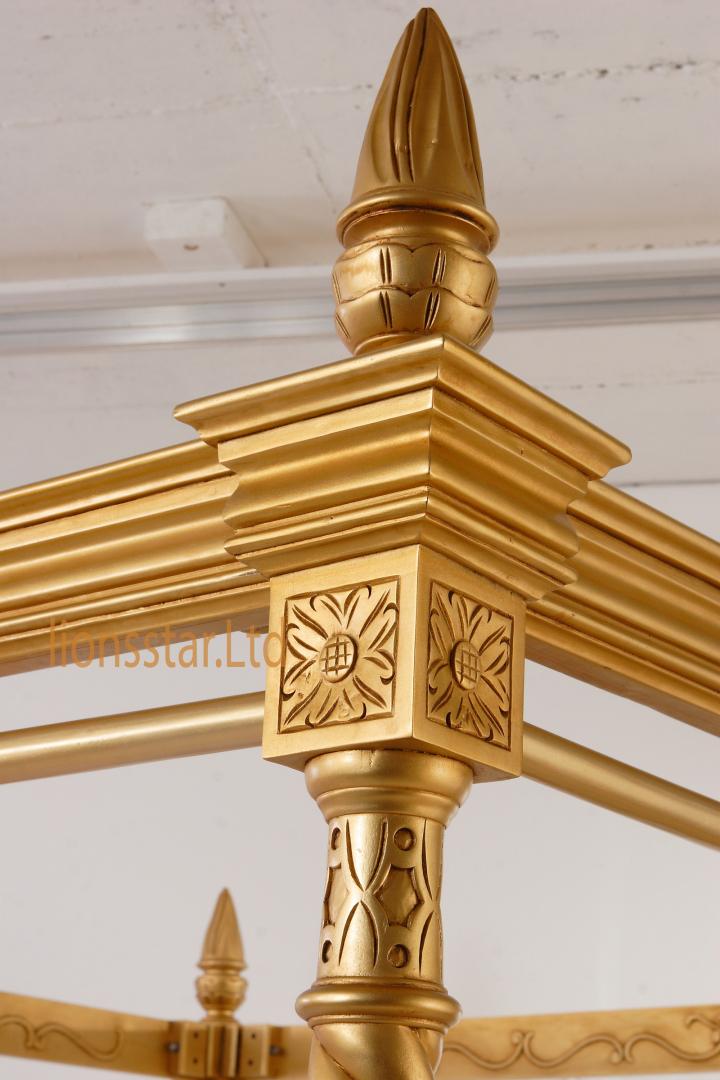 Himmelbett Gold