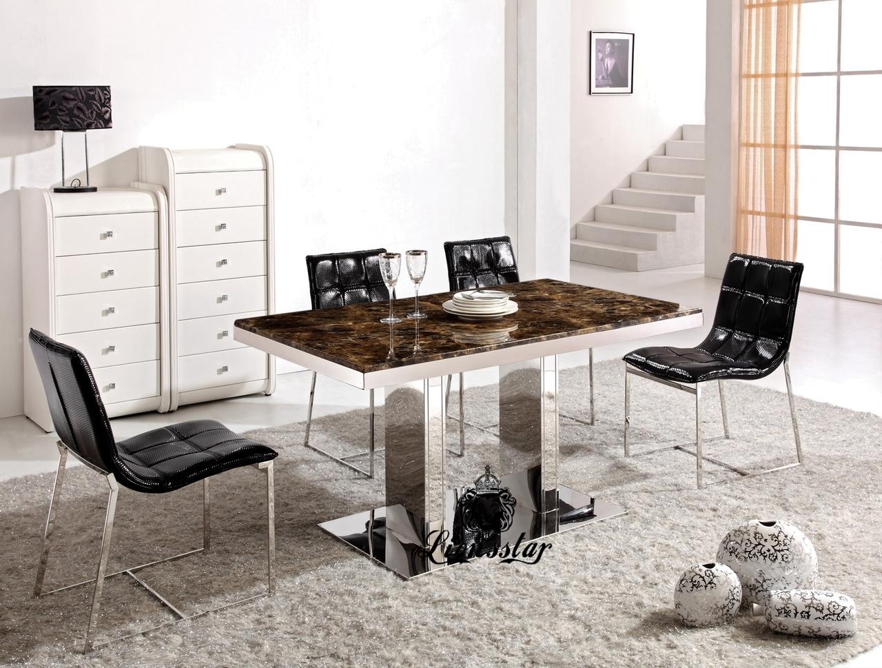 Design Tischset Braun
