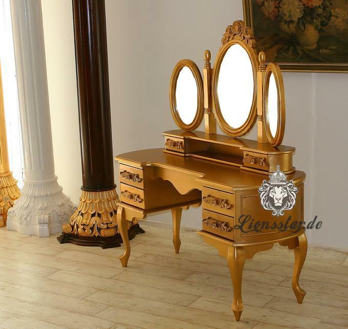 Spiegelkonsole Prinz Massiv
