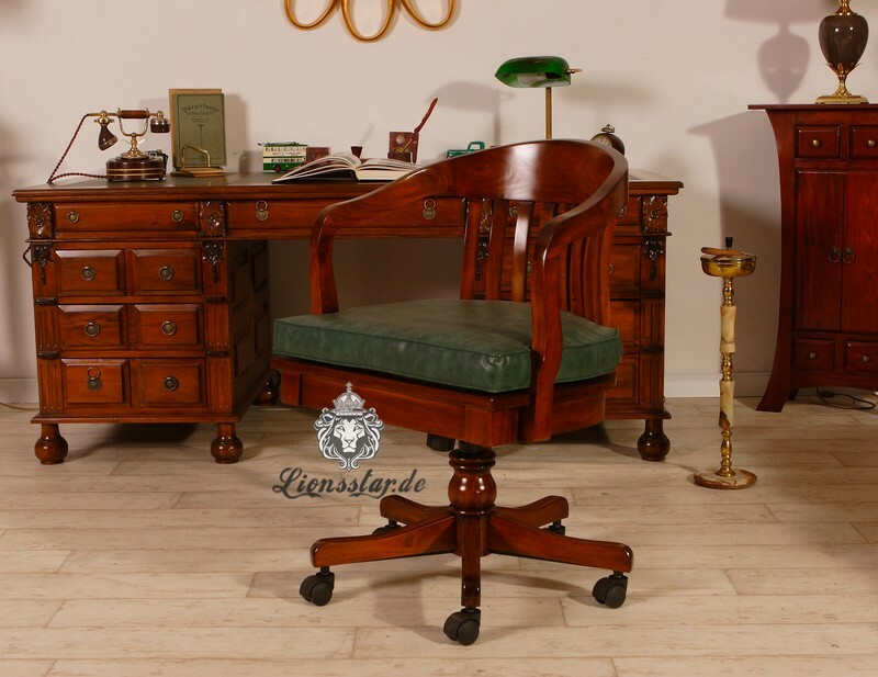 Schreibtischstuhl Kolonialzeit