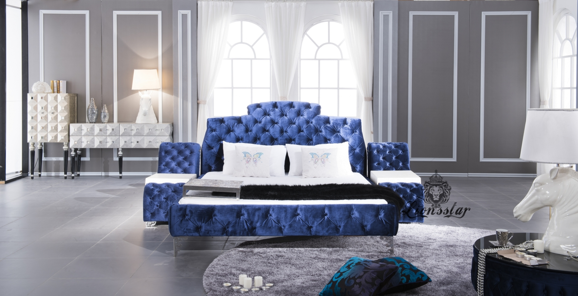 Designer Luxus Polsterbett | Lionsstar GmbH