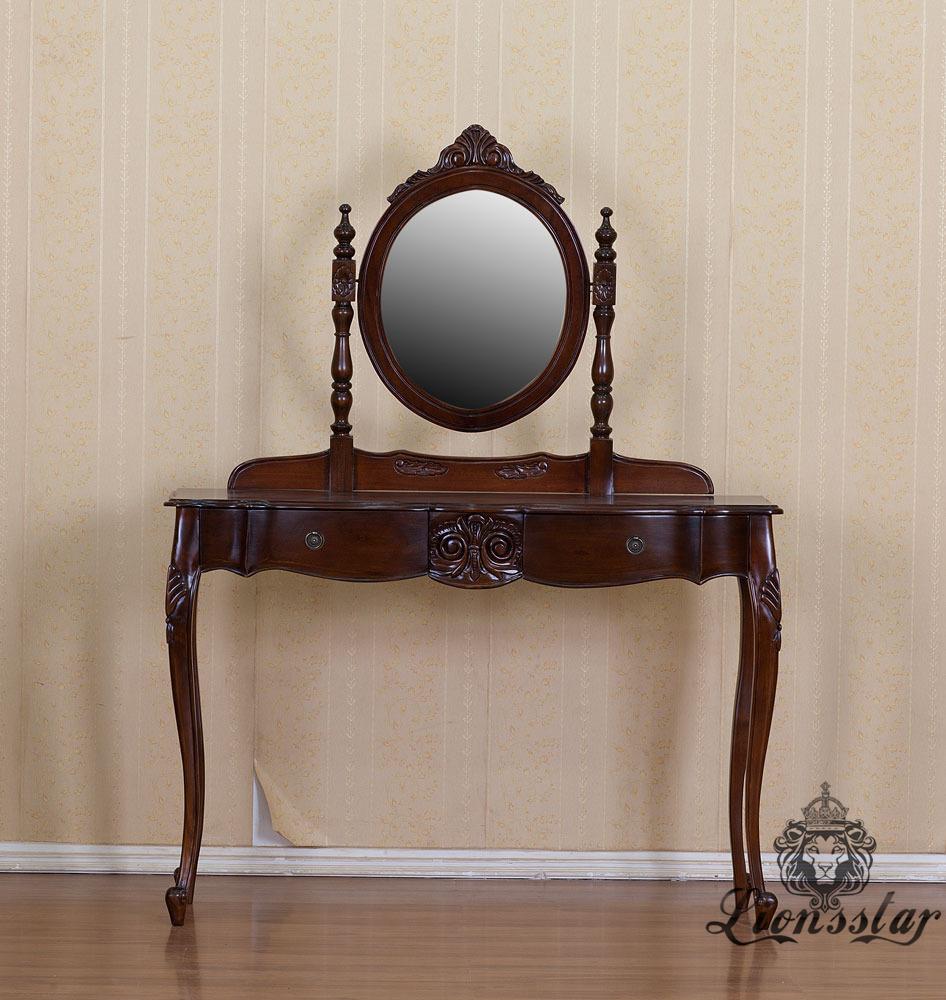 Spiegelkommode Barock Mahagoni Holz Sk.265