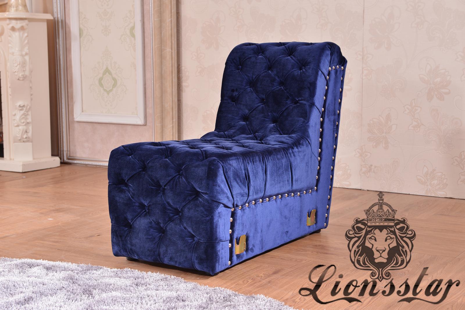 Moderne Couchgarnitur Blau