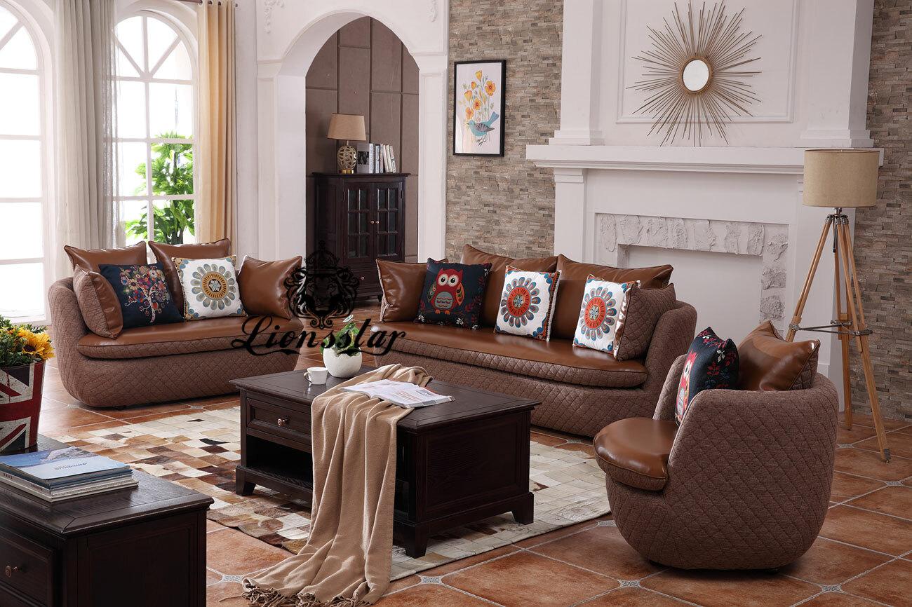 Designer Sofa Set Molly Edel Braun