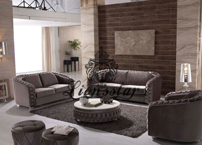 Sofa Set Light Chippendale